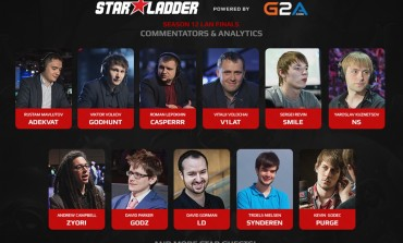 StarSeries XII: Team of casters and analysts for LAN finals announced