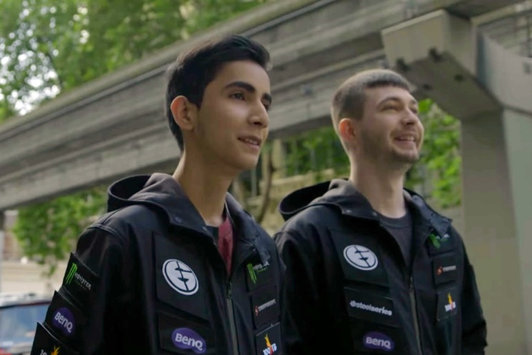 SumaiL and Fear Evil Geniuses TI5 profile