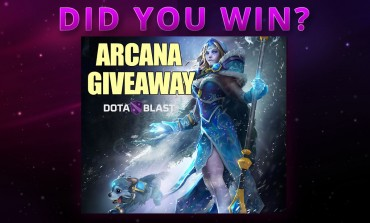 Did you win? DotaBlast prelaunch event arcana giveaway