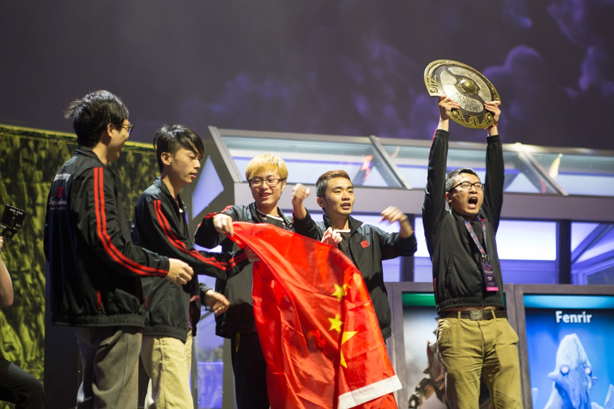 the international dota 2 newbee
