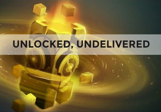 Immortal Treasure II unlocked, undelivered