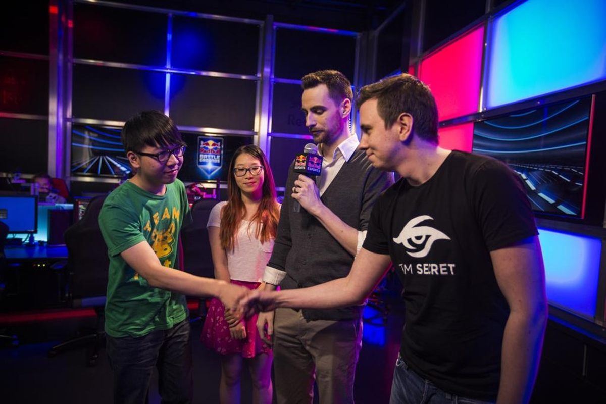 Team Secret Invictus Gaming Red Bull Battle Grounds Grand Finals