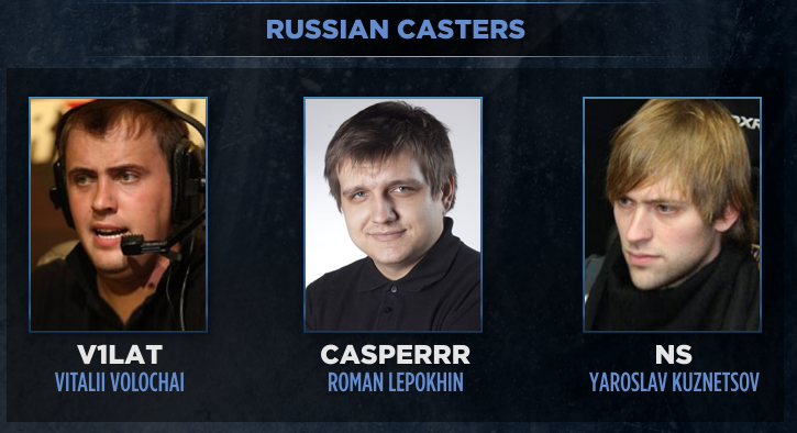 Dota 2 Summit 3 Russian Casting Crew