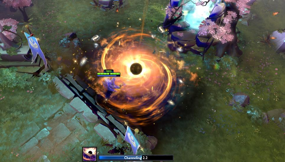 Dota 2 Enigma Bracers  World Chasm Artifact