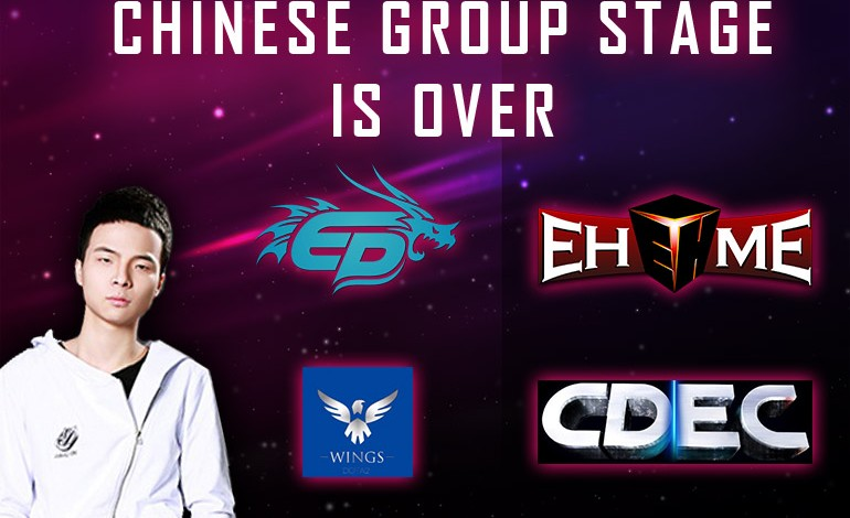 TI5 Chinese Qualifiers: CDEC, EHOME, Wings, EP advance to playoffs
