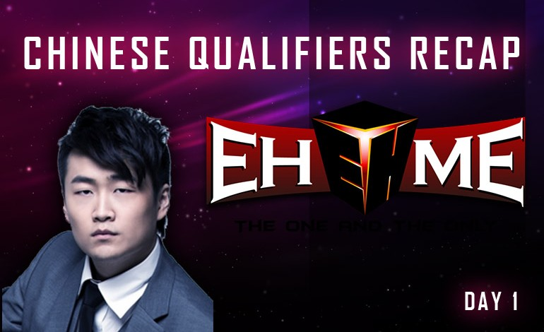 TI5 Chinese Qualifiers day 1 results