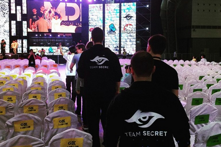 Team Secret MarsTV Dota 2 League
