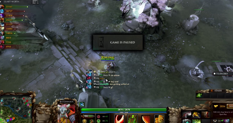 Dota 2 WWWW needed additional pause at TI5 America Qualifiers