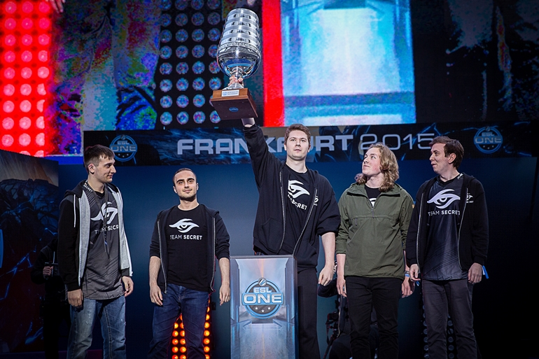 team secret esl one frankfurt 2015