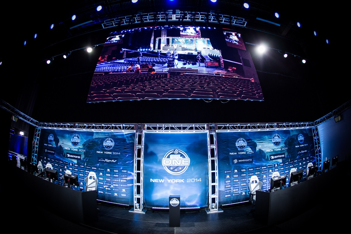 Madison Square Garden during last year's ESL One New York