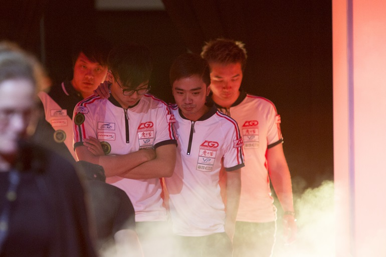 TI5 results day 5 LGD