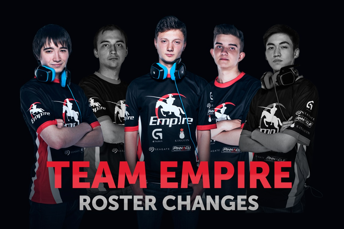 team empire roster changes