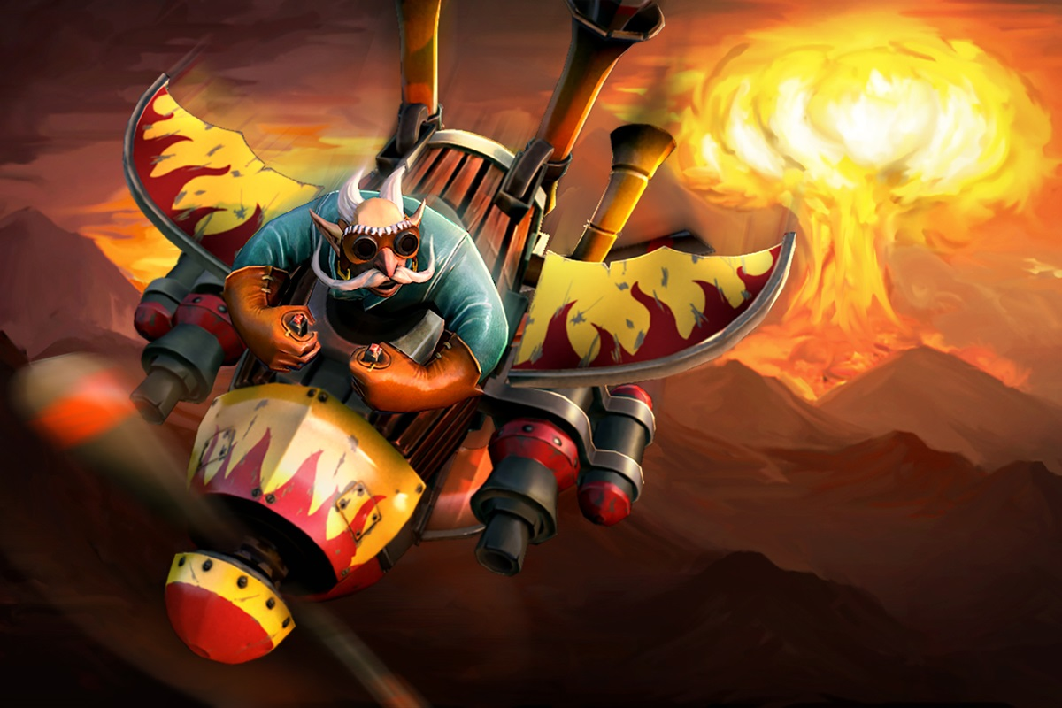 6.85 patch Gyrocopter Dota 2