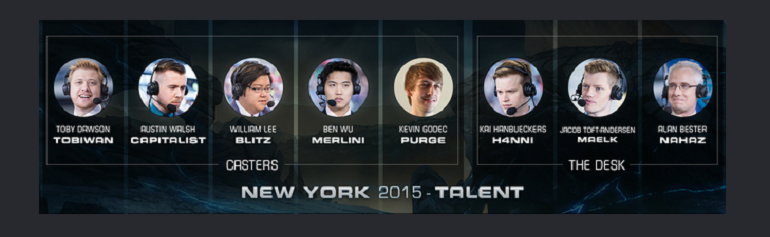 Dota 2 ESL One New York Talent