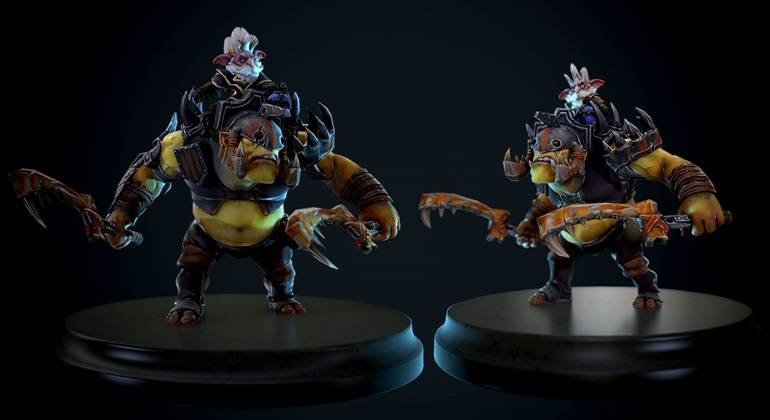 Dota 2 Alchemist the Convicts Trophy