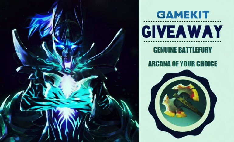 GameKit giveaway: win a Genuine Battlefury or the Arcana of your choice (update: winners!)