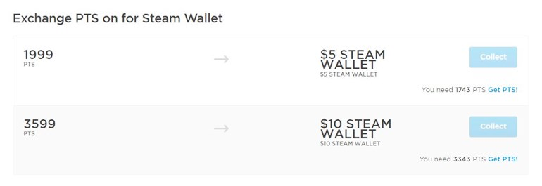 Gamekit steam wallet