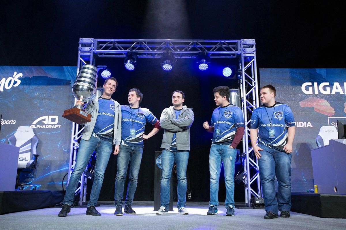 Vega Squadron winners of ESL One New York