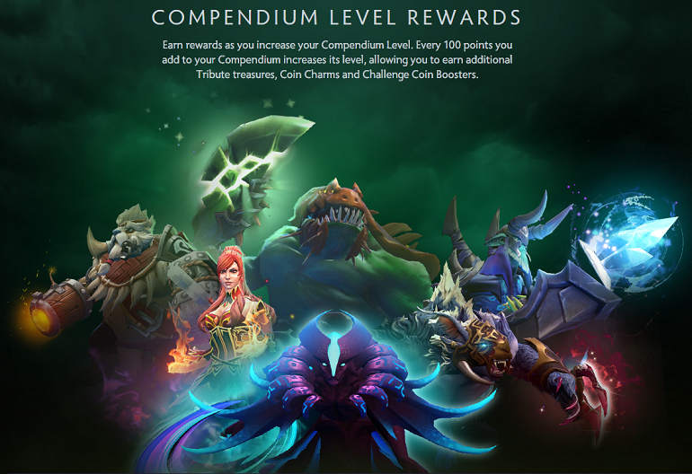Compendium matchmaking rewards