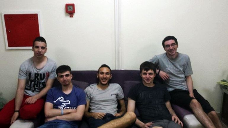 Madara (second from left) with London Conspiracy at the Razer Think Fast Cup 2