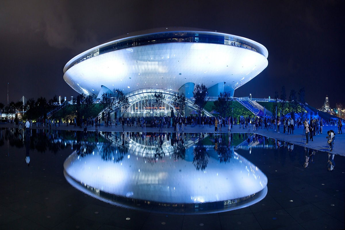 Dota 2 Mercedes Benz Arena for Shanghai Major