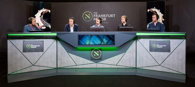 XBOCT interview analyst desk Frankfurt Major