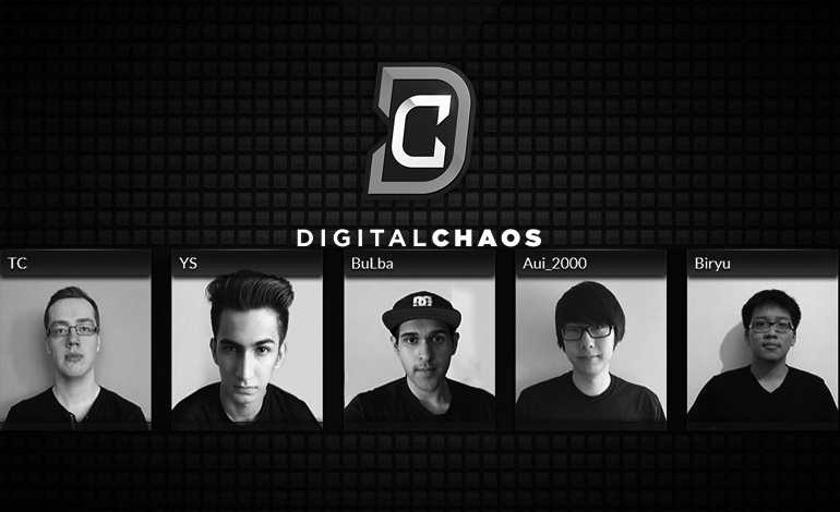 Biryu benched, Digital Chaos in search of fifth player