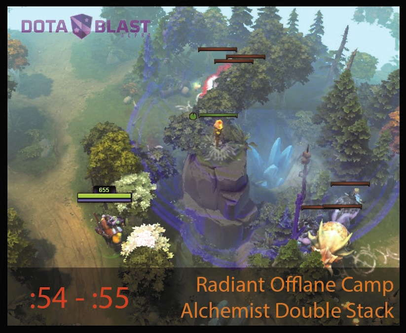 6.86 patch map radiant offlane camp alchemist double stack