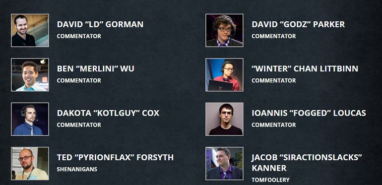Dota 2 Summit 4 talent