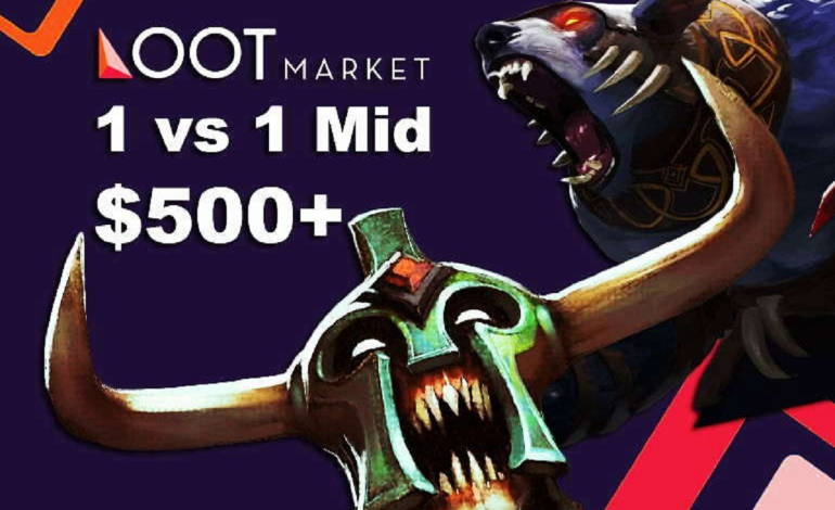 Loot Market 1v1 Mid tournament: $500+ on tap, 512 slots available