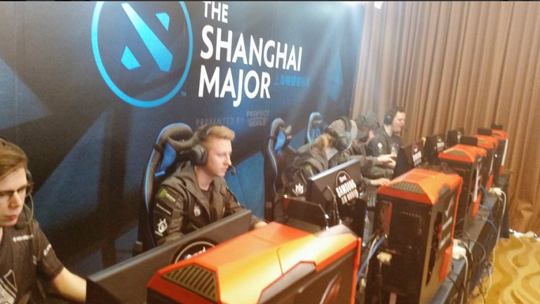 Dota 2 Alliance Shanghai Major Group B