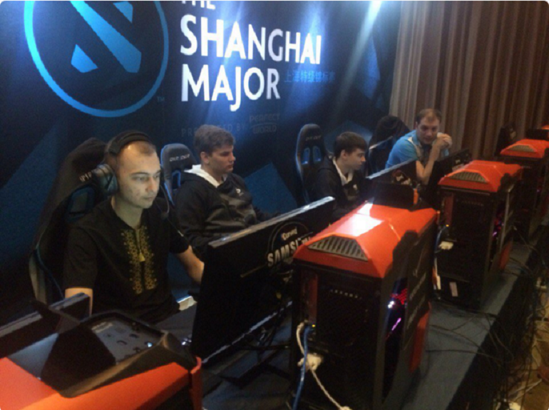 Dota 2 Team Spirit Shanghai Major Group B