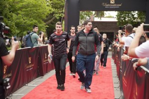 compLexity Gaming walking the red carpet at The International 5