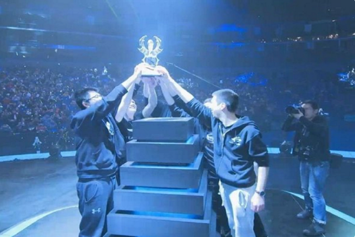 Dota 2 Team Secret Shanghai Major Grand Finals champions