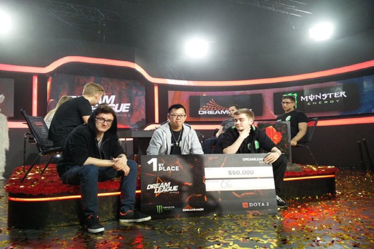 Dota 2 OG Dreamleague season 5 Grand Finals winners