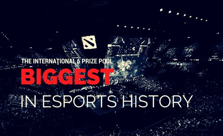 TI6 prize pool breaks record, becomes largest in esports history