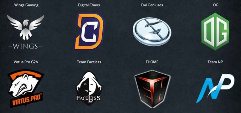 The Summit 6 teams