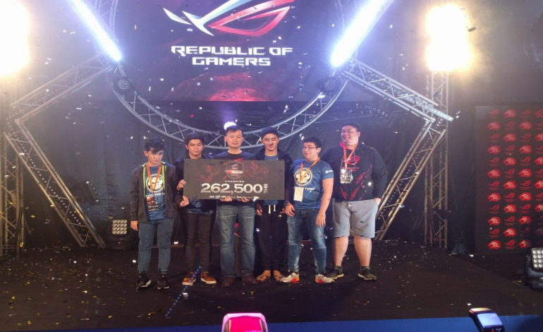 ASUS ROG SEA CUP Grand Finals; Execration topple over Faceless